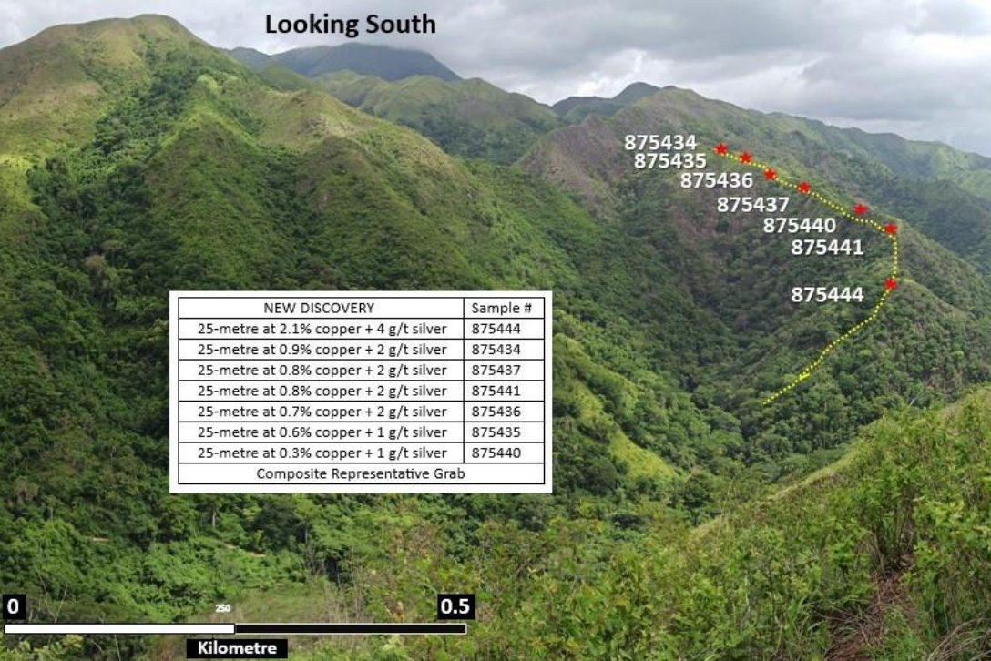 Figure 2. AM South Significant 400-metre New Discovery