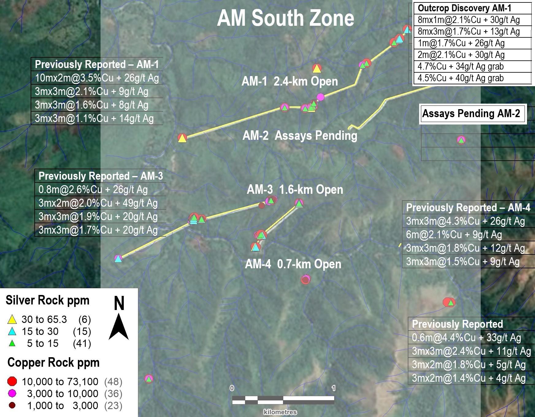 Figure 2. AM South Zone (4-km by 3-km Open)
